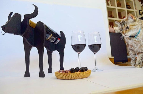 Kelly Tozzi BoVino Wine Holder