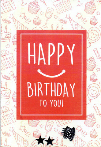 "SFD ""Happy Birthday To You"" Mini Postcard"