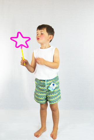 Vieiras y Arenas Amoeba Kid's Swimming Shorts