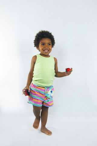 Vieiras y Arenas Tribal Kids Swimwear