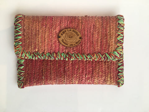 Aby La Rosa Clutch Bag Red