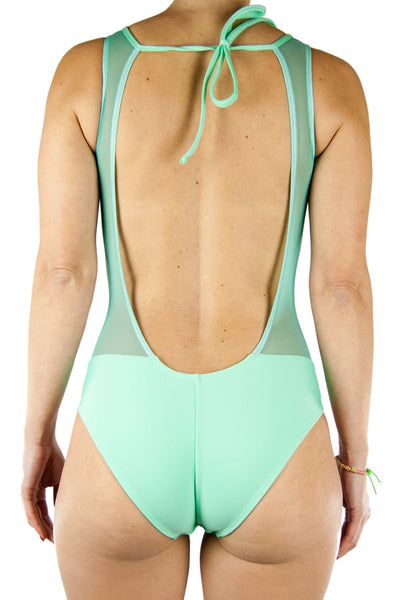 Bequevé Entero V Bodysuit Mint Green