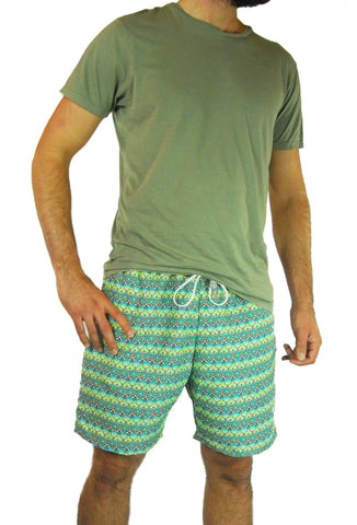 Vieiras y Arenas Men's Amoeba Swimming Shorts