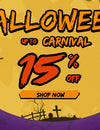 Happy Halloween 15% Discount All Orders--Fantasylinen