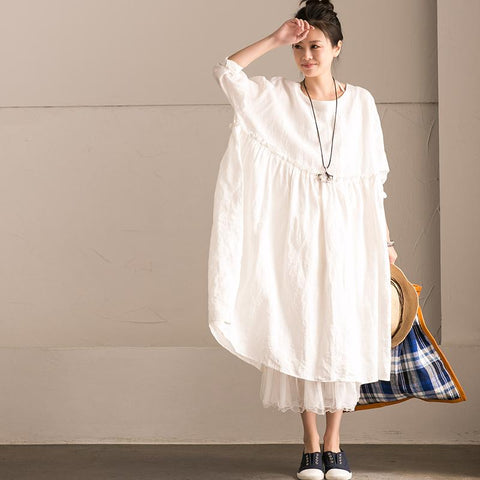 Best White Linen Dresses Ideas