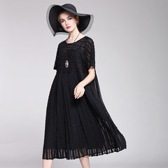 Loose Pure Color Summer Dresses For Women Q2040
