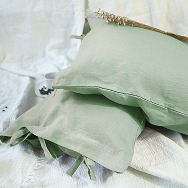 Linen Pillow Case With Chalaza