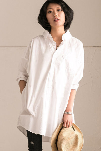 White Boy Friend Shirt Summer and Spring Women Top C1605A