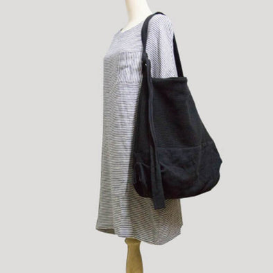 Original Handmade Wool Casual Crossbody Canvas Bag Shoulder Bag - FantasyLinen