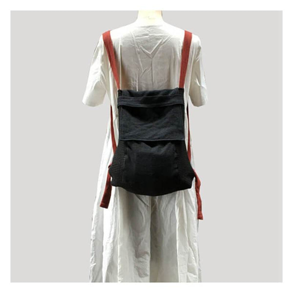 Original Handmade Casual Art Canvas Backpack Shoulder Bag Women Bags - FantasyLinen