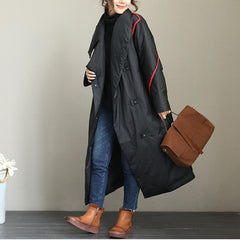 Women Loose Thick Long Down Coat For Winter Q2001