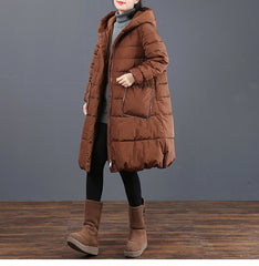 Women Casual Hoodie Thick Winter Coat Loose Outfits 6063