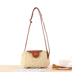 Women Twine Shoulder Bag Casual Summer Travel Bag B25031