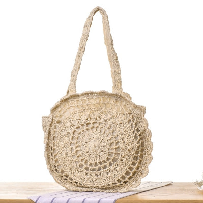 Women Twine Shoulder Bag Summer Casual Beach Bag B26031