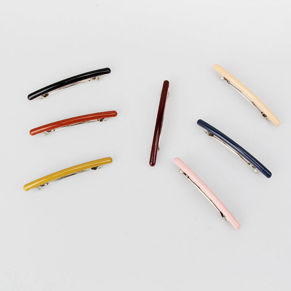 Candy Color Simple Hair Pins Women Korea Style Hair Clips C581