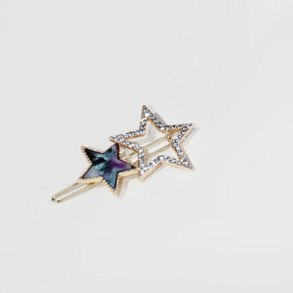 Cute Sparkling Star Girls Hair Pins Korea Style Hair Clips C575