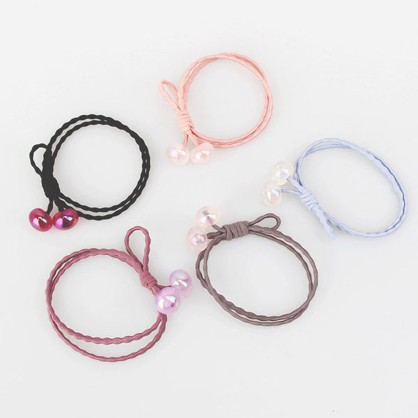 Candy Color Cute Girls Hair Bands Sweet Bead Hair Accessories B578
