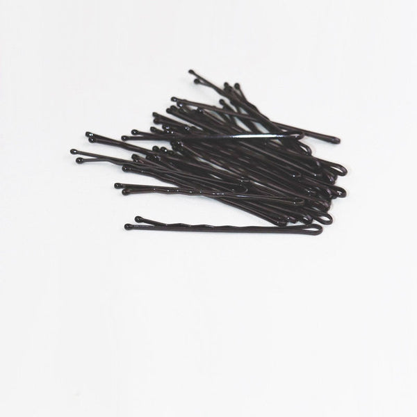 Classic Simple Hair Pins Black And Coffee Hair Clips C570