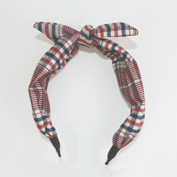 Plaid Student Simple Hair Clasp Korea Style Girls Hair Accessories A560