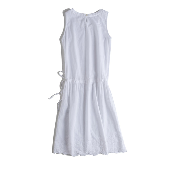 Women Casual Drawing Cotton Sundresses Summer Cool Clothes Q18063