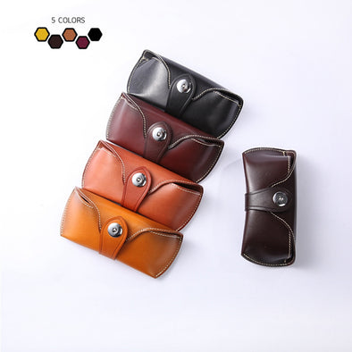 Eyeglass Case Full Grain Leather