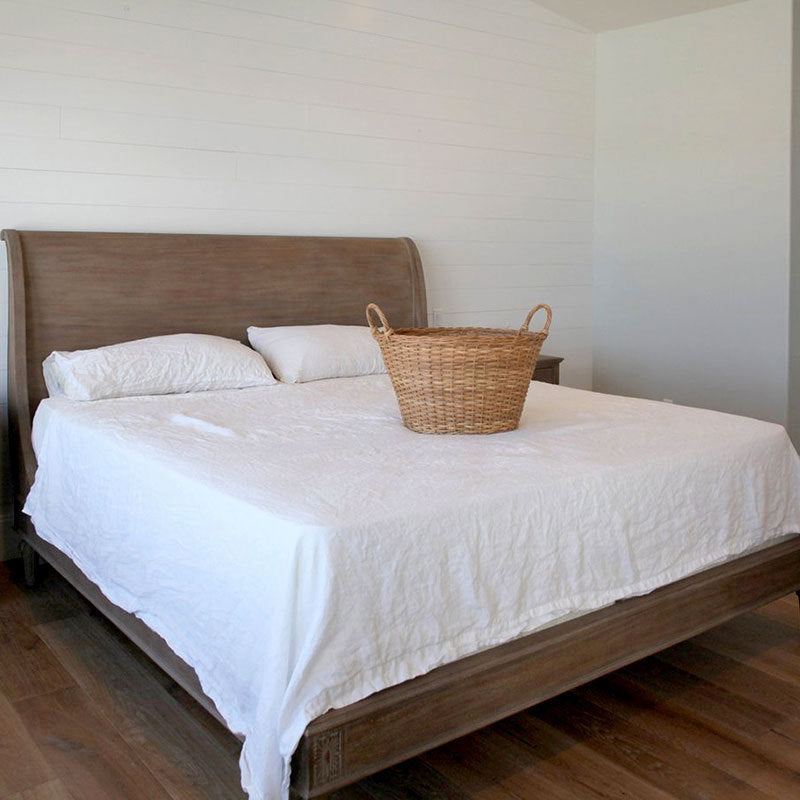 ... Luxurious 100% Pure French Linen Bed Sheets By FantasyLinen ...