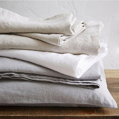 Luxurious 100% Pure French Linen Bed Sheets by FantasyLinen