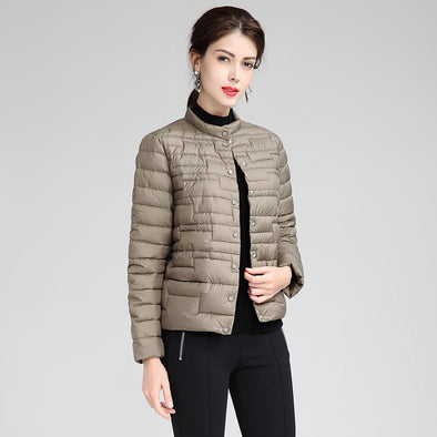 Fashion Light-Minded Short Down Coat For Women H839