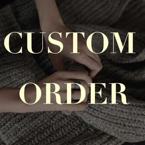 Handmade Women Clothes Custom Order