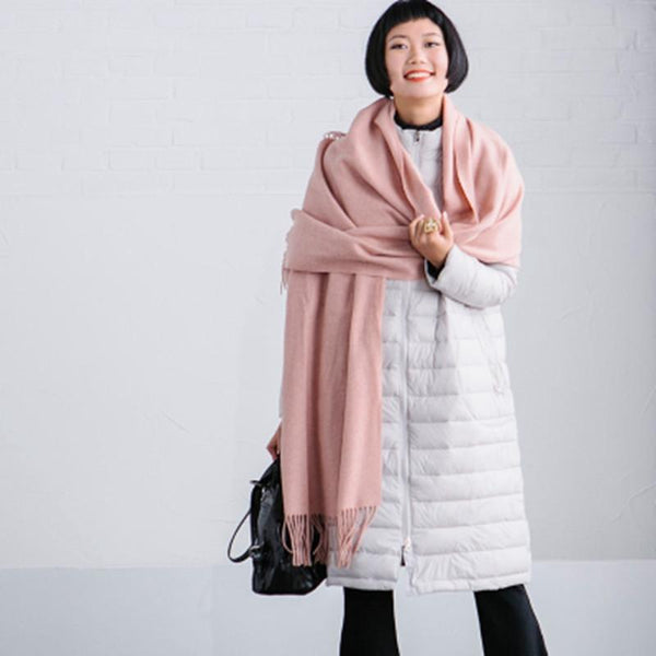 Commuting Wool Art Warm Long Scarf Women Accessories J510A