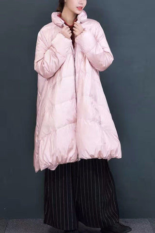 Fashion Down Jacket Maxi Size Long Winter Coat Women Clothes 7001A