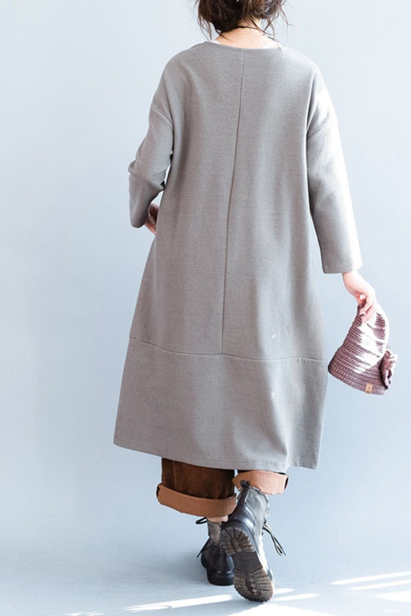 Plus Size Loose Casual Dress For Women - FantasyLinen