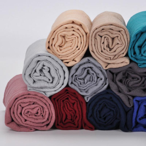 New Style Cotton Linen Vintage Long Shawl Women Scarf Fashion Accessories E1401A