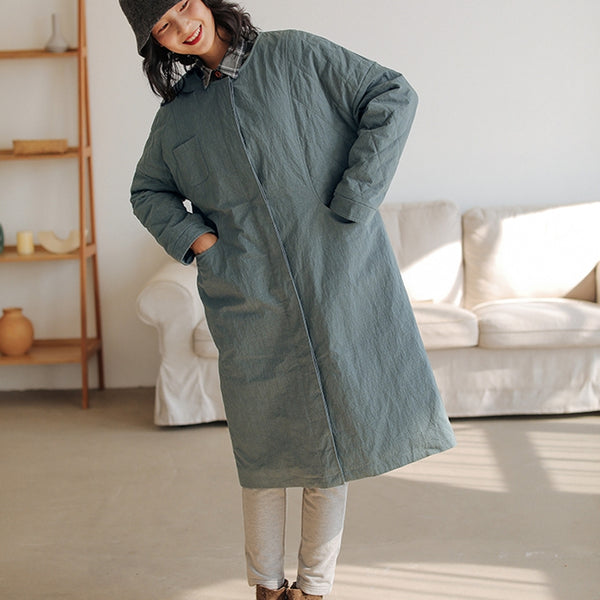 Women's Winter Detachable Hooded Padded Coat
