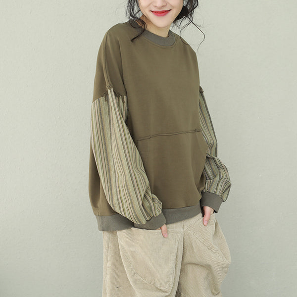 Women Vintage Quilted Casual Fleece For Spring Q2236