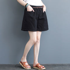 Casual Women Cool Shorts Summer Loose Short Cotton Pants K3061
