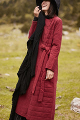 Women Winter Light And Thin Loose Coat