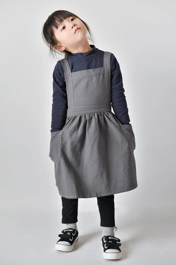 Baby Apron Art Drawing Linen Household Workwear