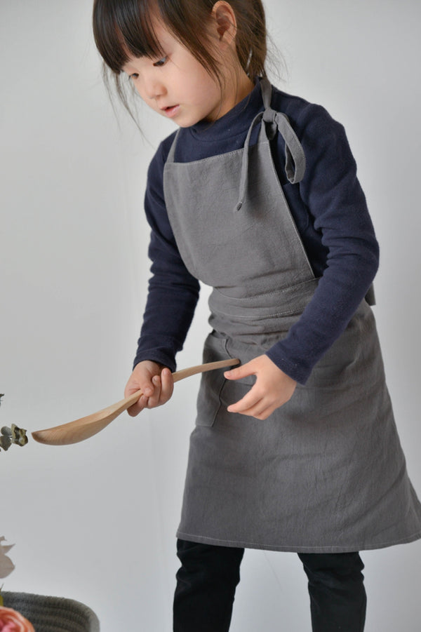 Apron Baby Children Art Drawing Linen Home Kitchen Workwear