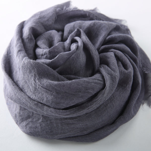 Cotton Linen Warm Long Scarf Women Accessories  Christmas gift Thanksgiving gift