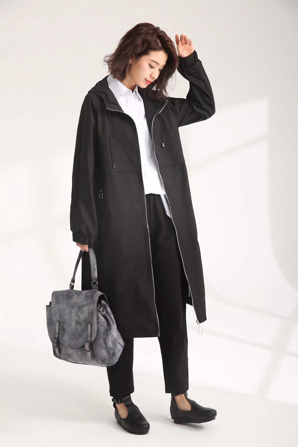 Autumn Casual Wind Coat Women Fashion Jacket 8052