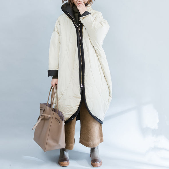Casual Loose Thicken Down Coat Women Warm Jacket C2311