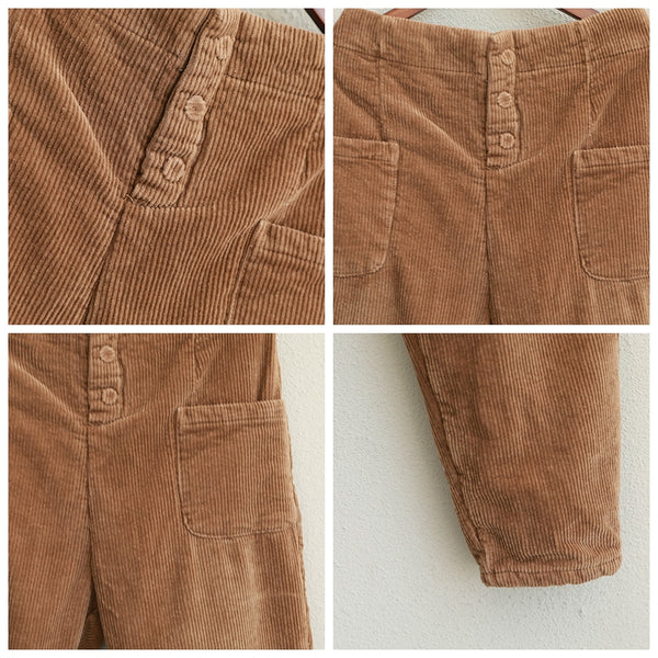 Vintage Thicken Corduroy Casual Pants For Women Q1931