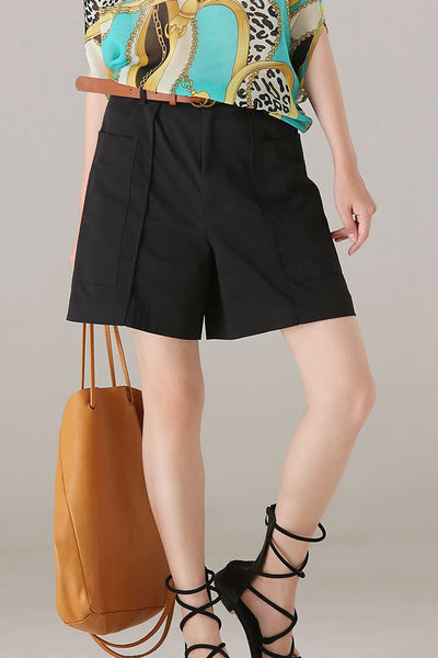 Casual Comfort Cotton Shorts Women Fashion Pants K8171