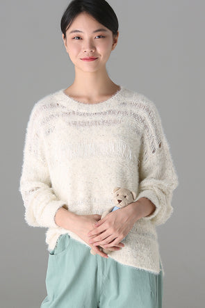 97232a94e5 Cute Loose V Neck Blue Sweater Women Warm Tops M8135.  69.00. QUICK VIEW. Cute  Loose Sweater Women Casual Tops For Autumn Z1895