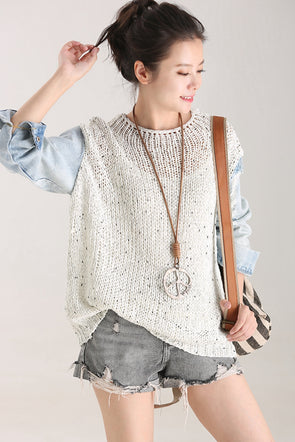 Casual Quilted Knitwear Women Fall Tops Z5011