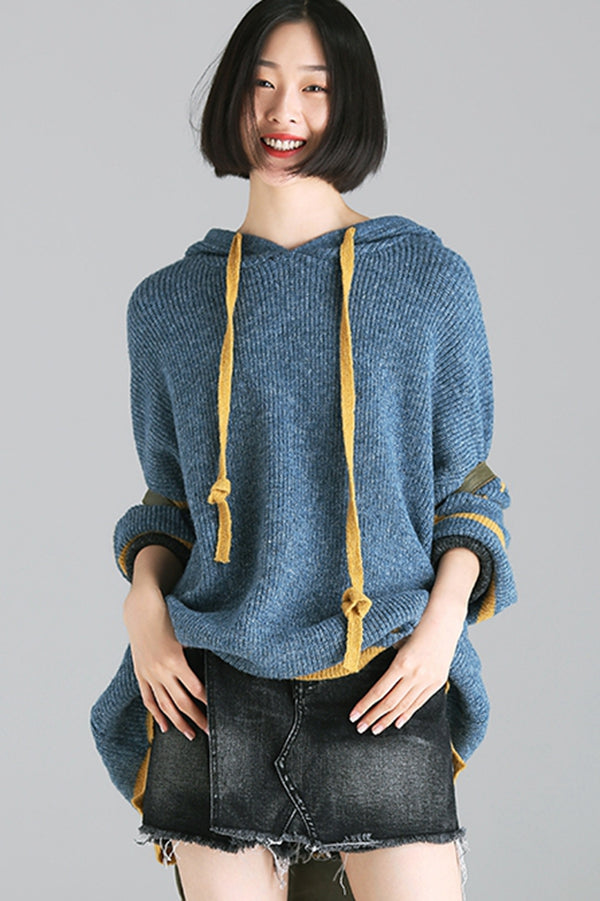 Loose Hoodie Warm Sweater Women Casual Tops M2508