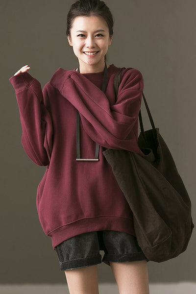 Simply Vintage Fleece Jacket For Womens