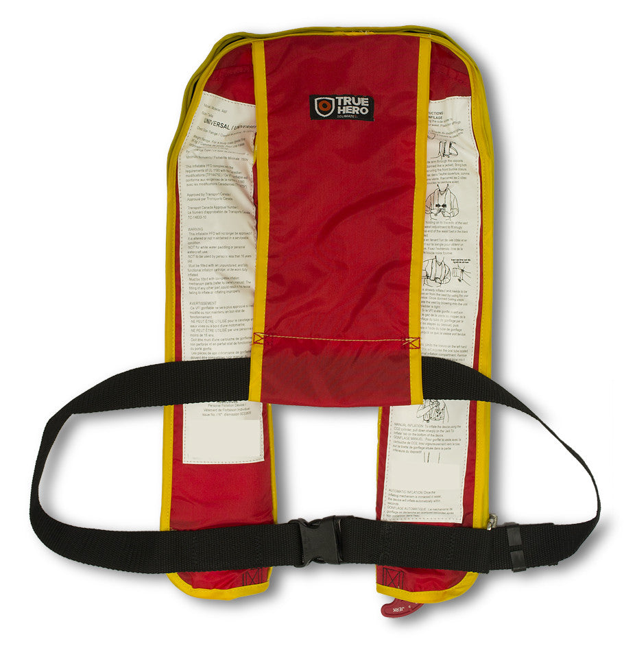Inflabable PFD Automatic A6F. Canadian Approval