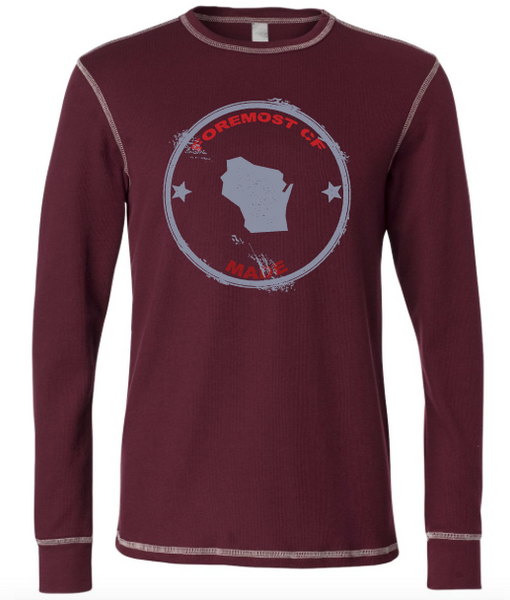 Long Sleeve Thermal Maroon